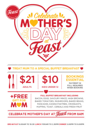 Mother's Day at Feast