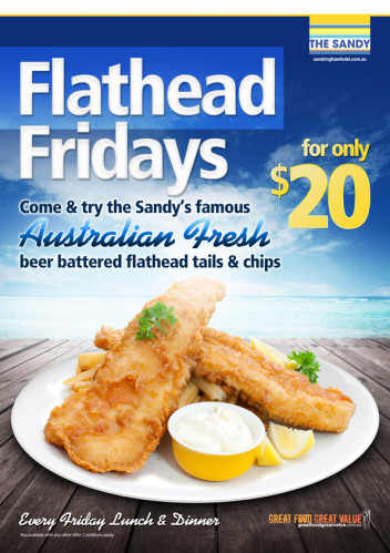Friday $20 Flathead