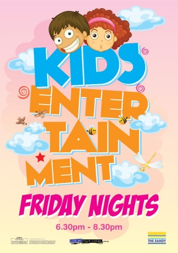 Friday is Kids Night