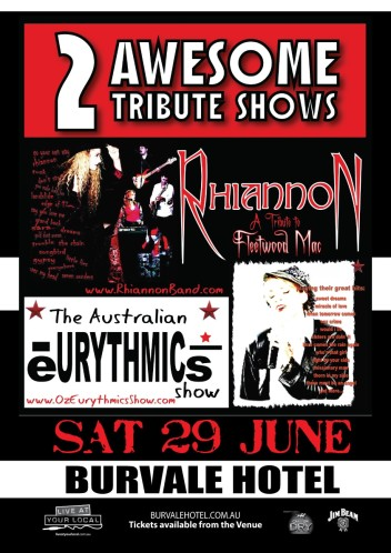 The Australian Eurythmics and Fleetwood Mac Tribute Show