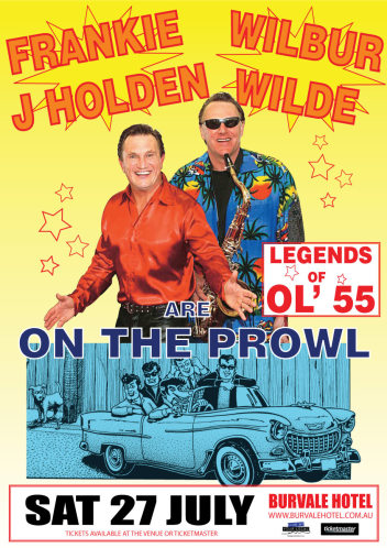 Frankie J Holden  And  Wilbur Wilde