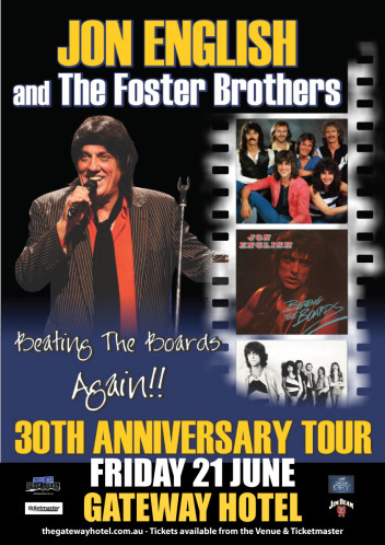 Jon English and the Foster Brothers