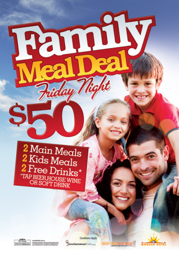 Friday $50 Family Meal Deal