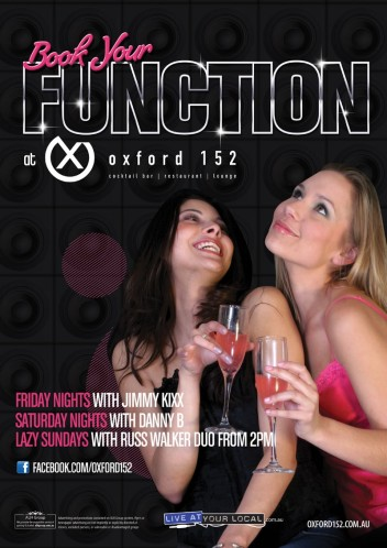 Book Your Function at Oxford 152