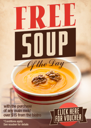 Voucher: Free Soup of the Day