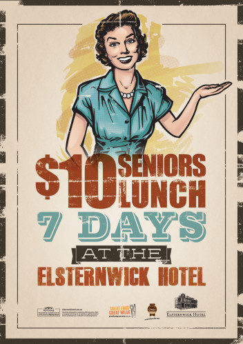 $10 Seniors Lunch