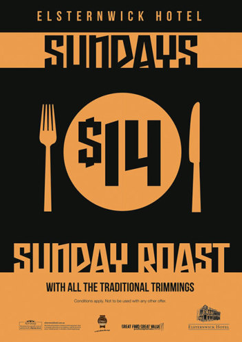 Sunday $14 Roast