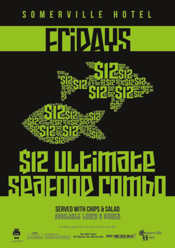 Friday $12 Ultimate Seafood Combo