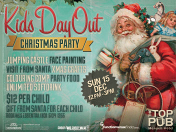 Kids Day Out Christmas Party