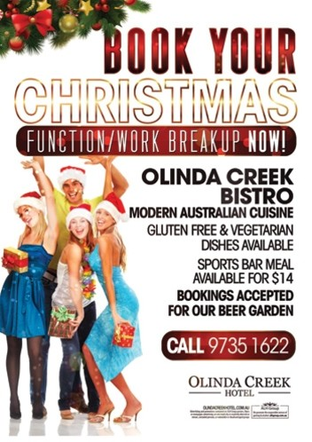 Book Your Christmas Break Up
