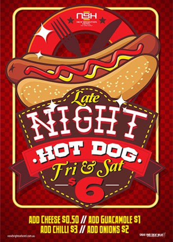 Late Night Friday Hot Dogs