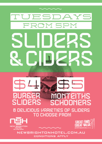 Ciders & Sliders
