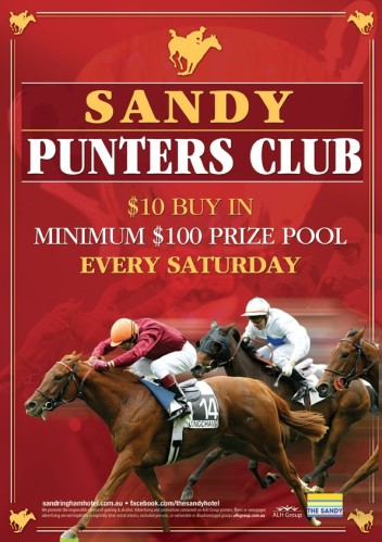 Saturday $10 Punters Club