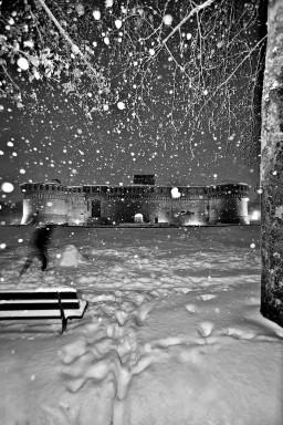 La grande nevicata, Imola