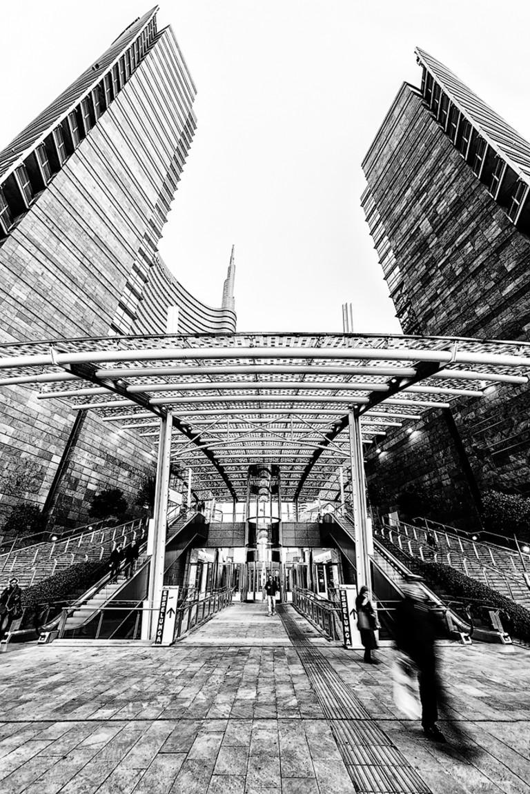 Salire, Milano