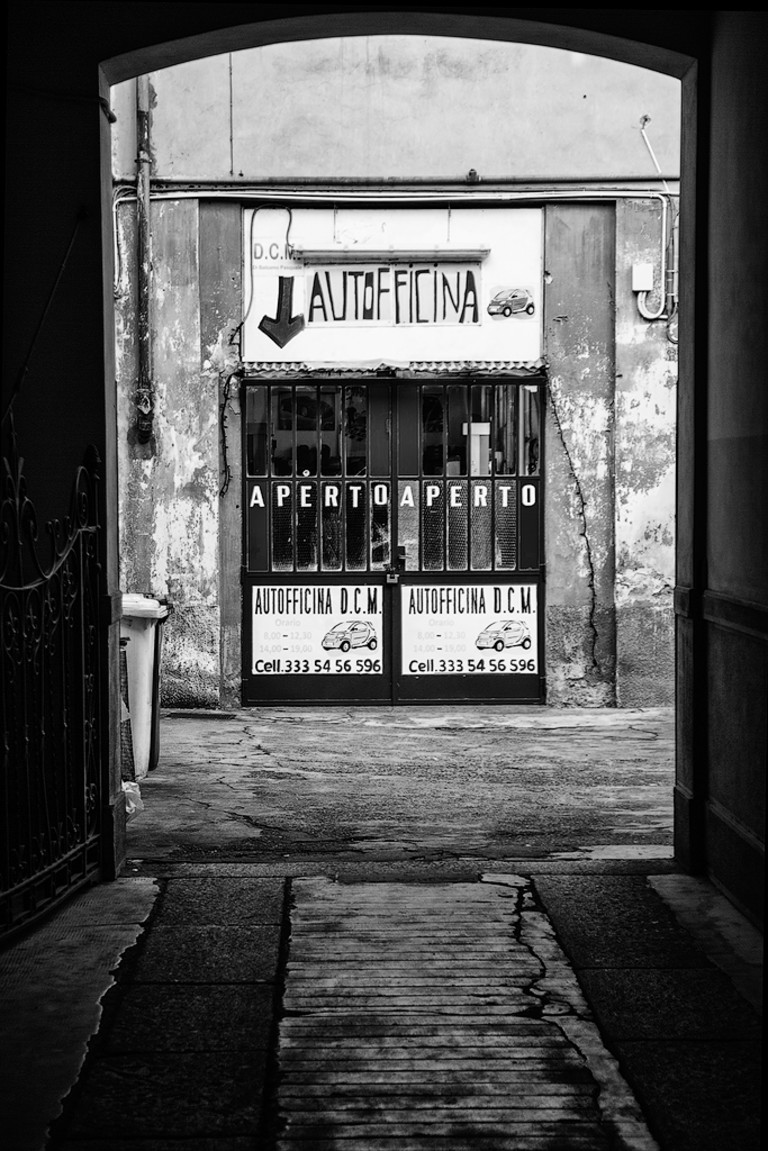 Vecchia officina, Milano