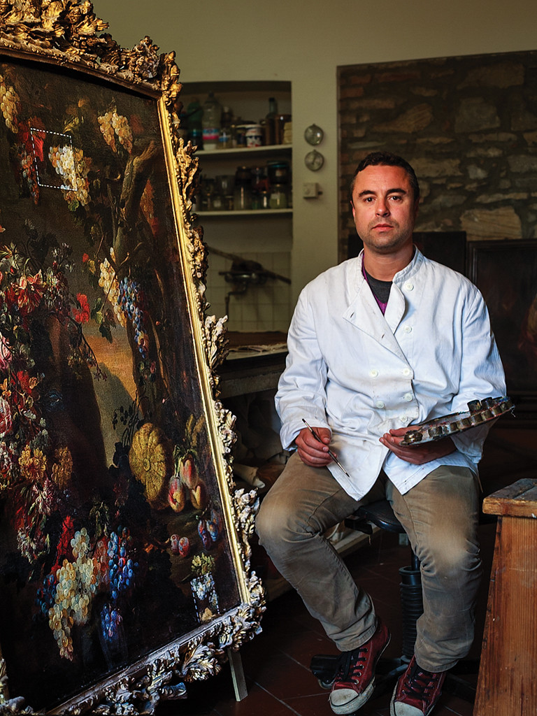 People of XXIst Century - Master Tradesmen  Restauratore di dipinti, Bergamo, Italy