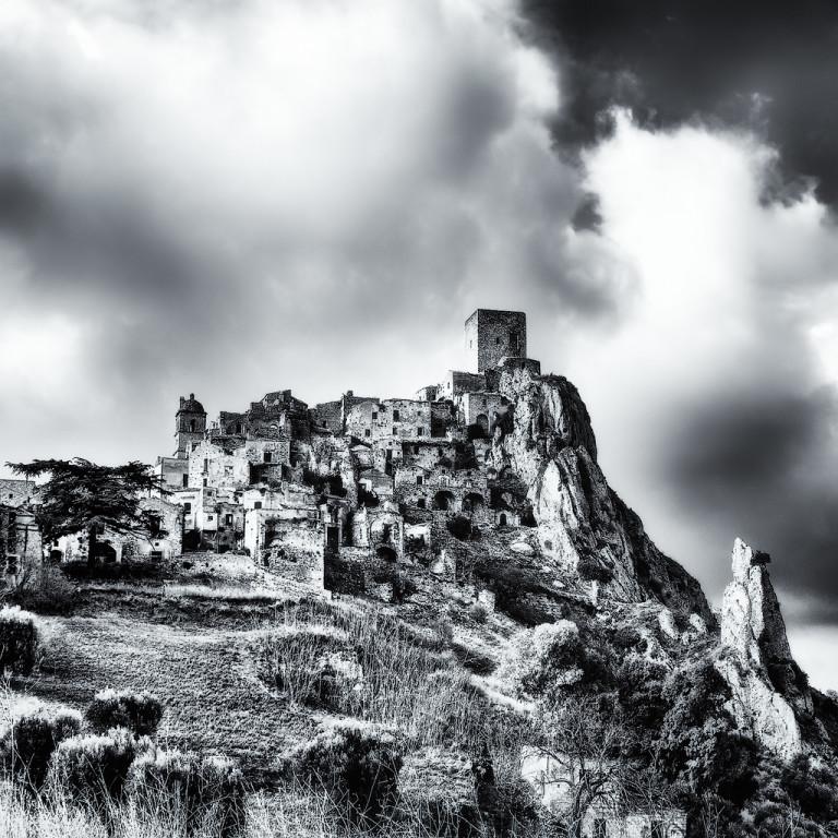 A famous abandoned village