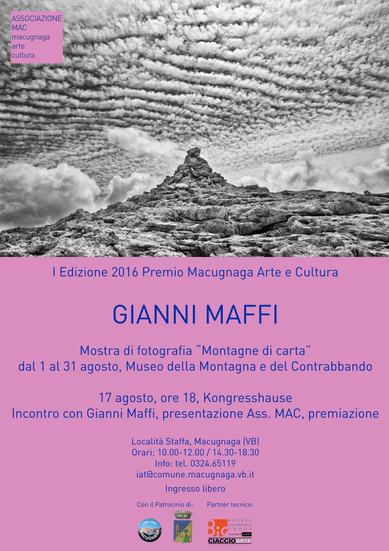 Gianni Maffi ha vinto il Premio Macugnaga 2016