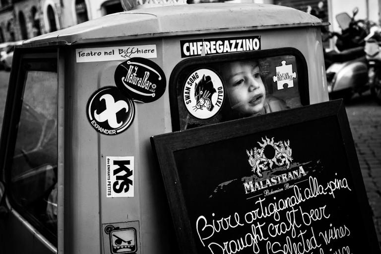 Che Regazzino, Roma