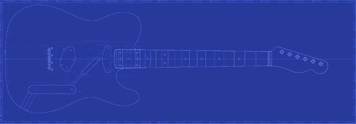 Telecaster Plan and Template