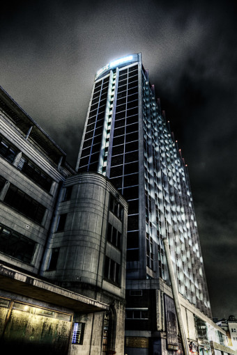 Nestle Tower by Night