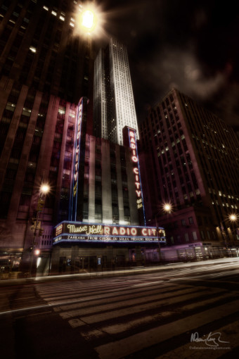 Radio City Revisited - Frank Miller Style