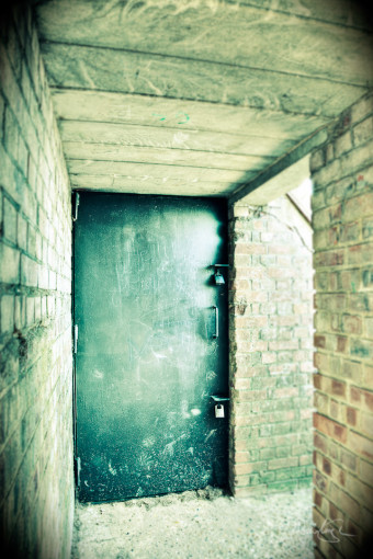Door to the bunker