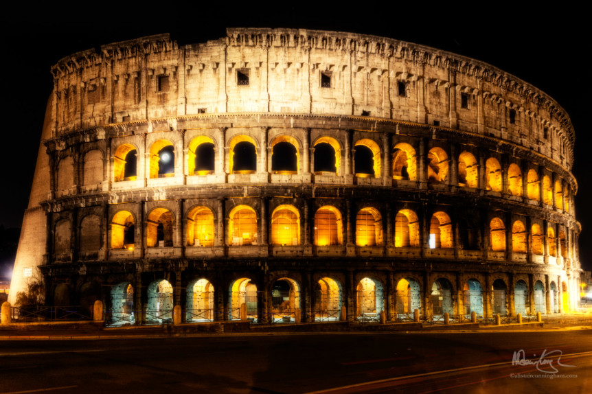The Colosseum by Night