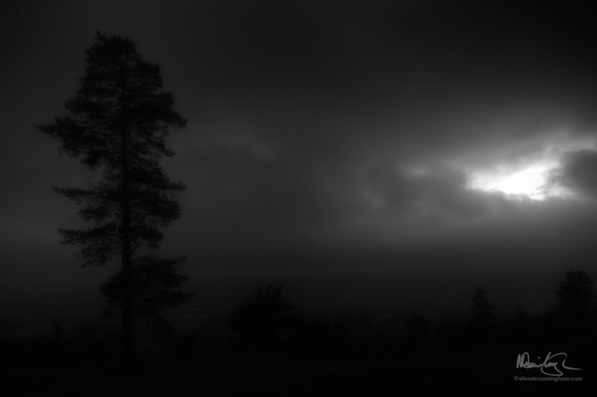 Leith Hill - Black & White