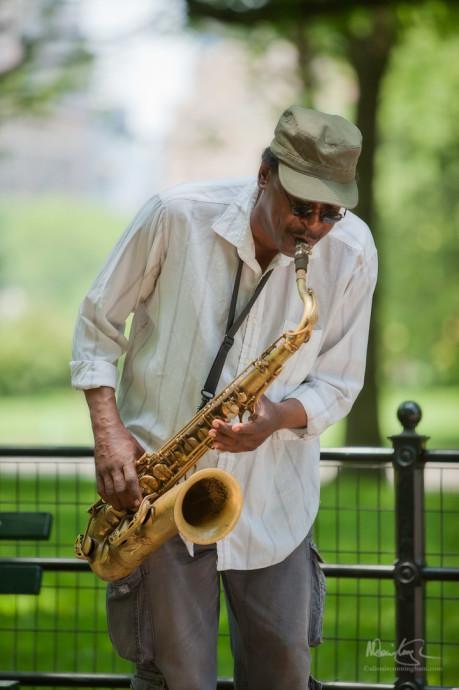 Portrait: Saxophonist