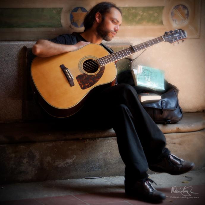 Portrait: Guitarist