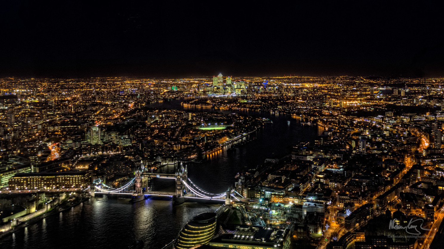 The View from The Shard, Looking East