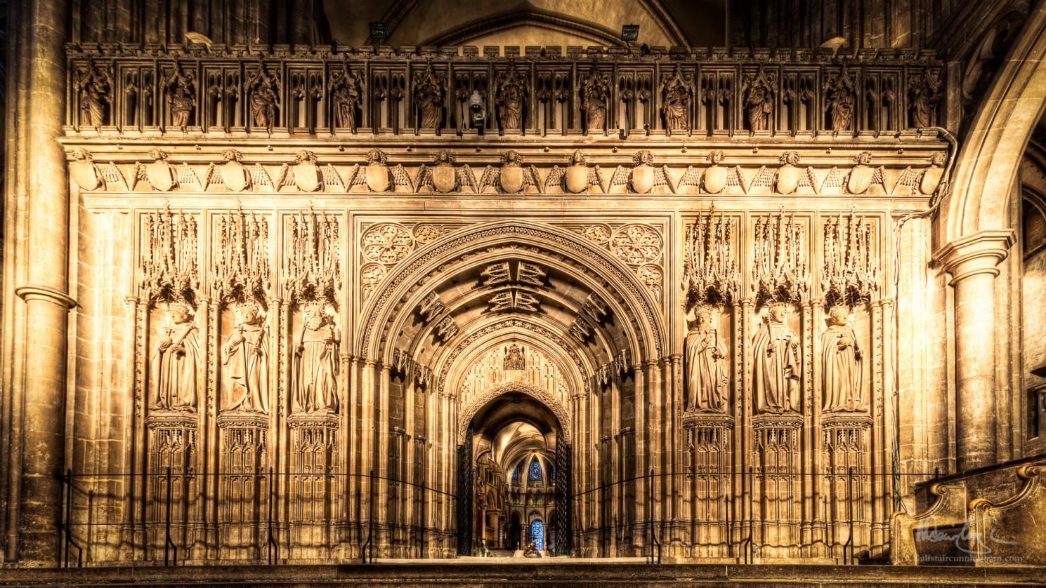 Canterbury Cathedral - Choir Screen