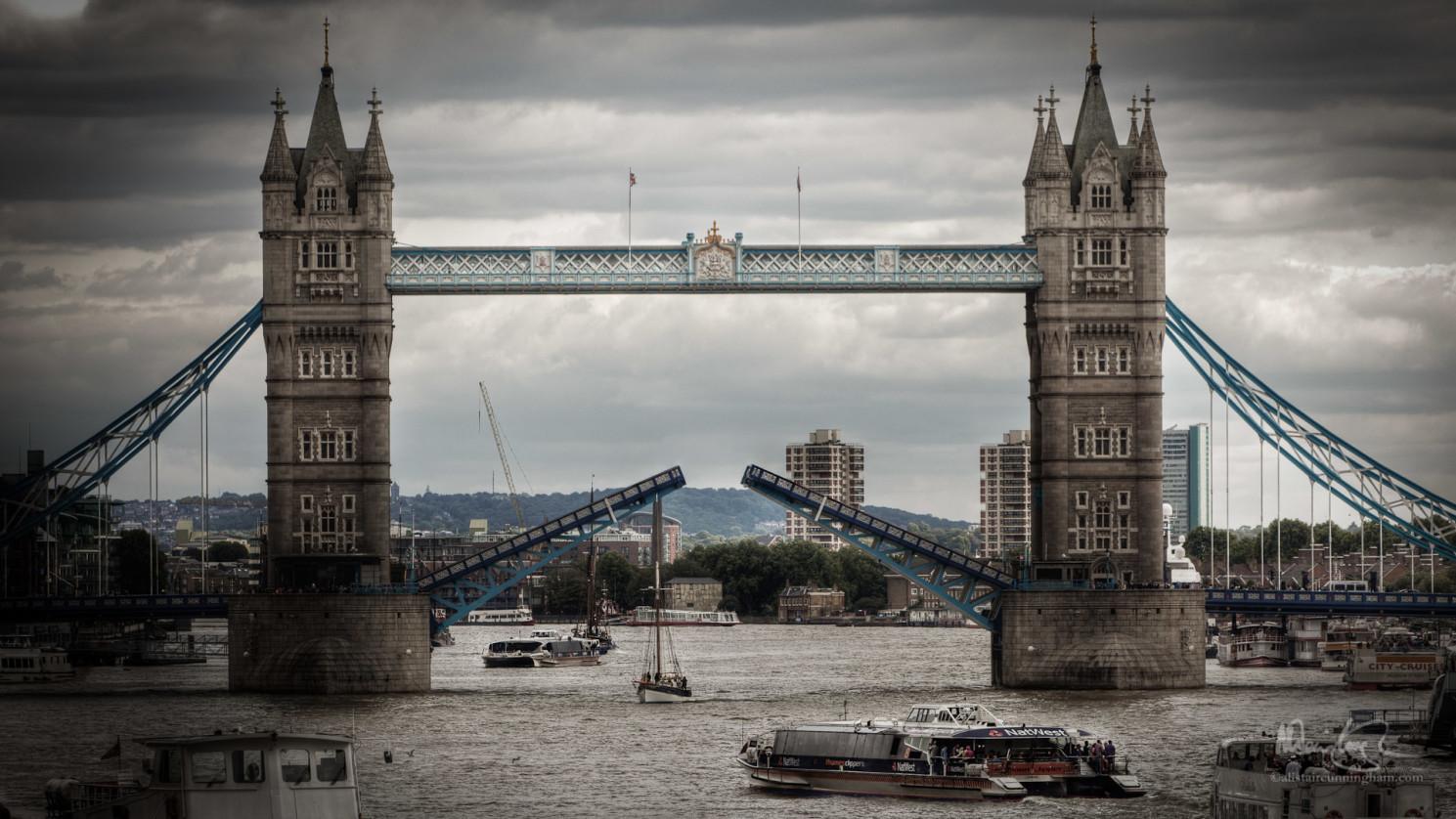 The Opening of Tower Bridge
