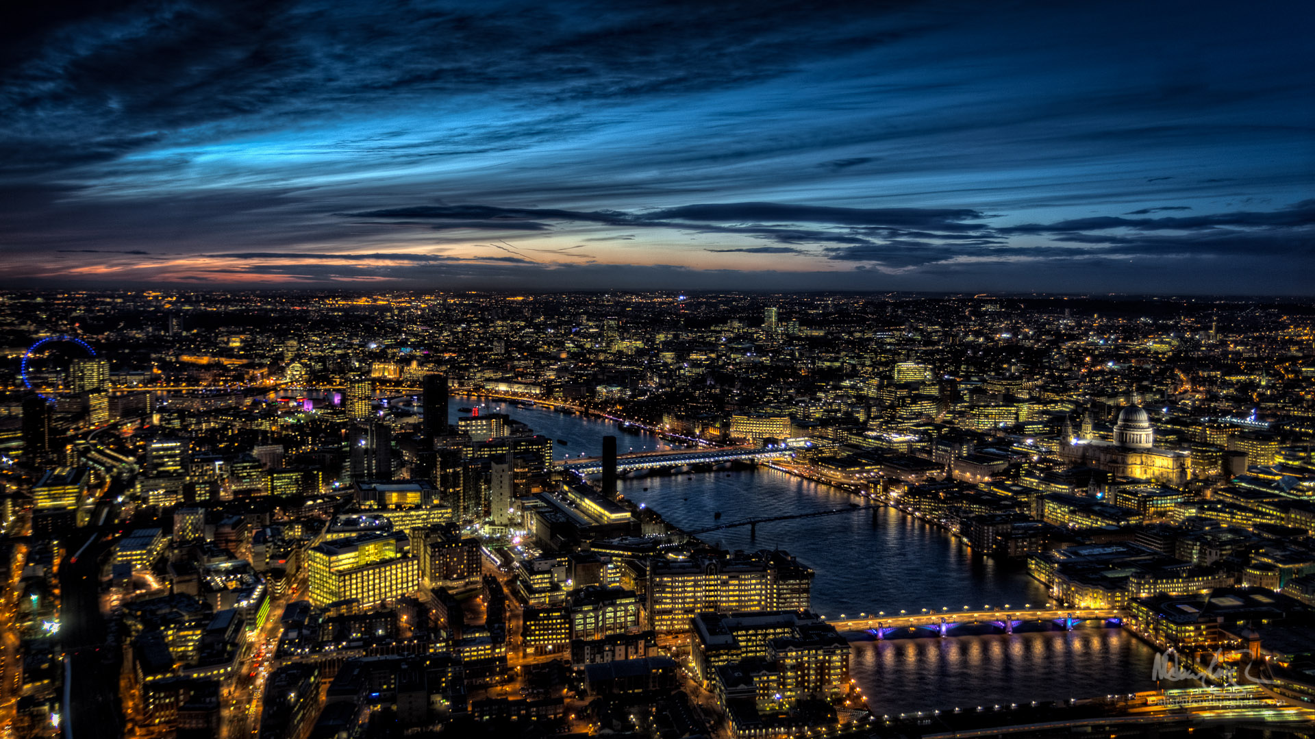 The View from The Shard, Looking West
