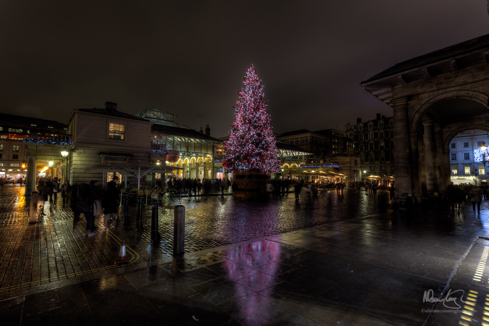 Covent Garden's Christmas Tree 2013