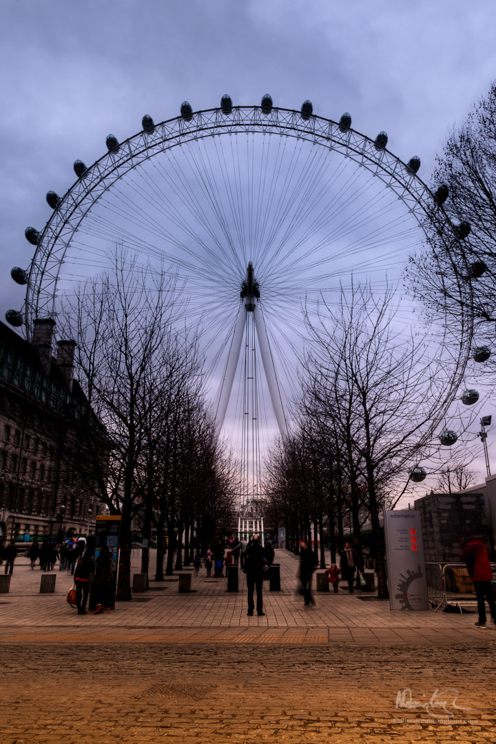 An eye for the London eye, part 2 of 5