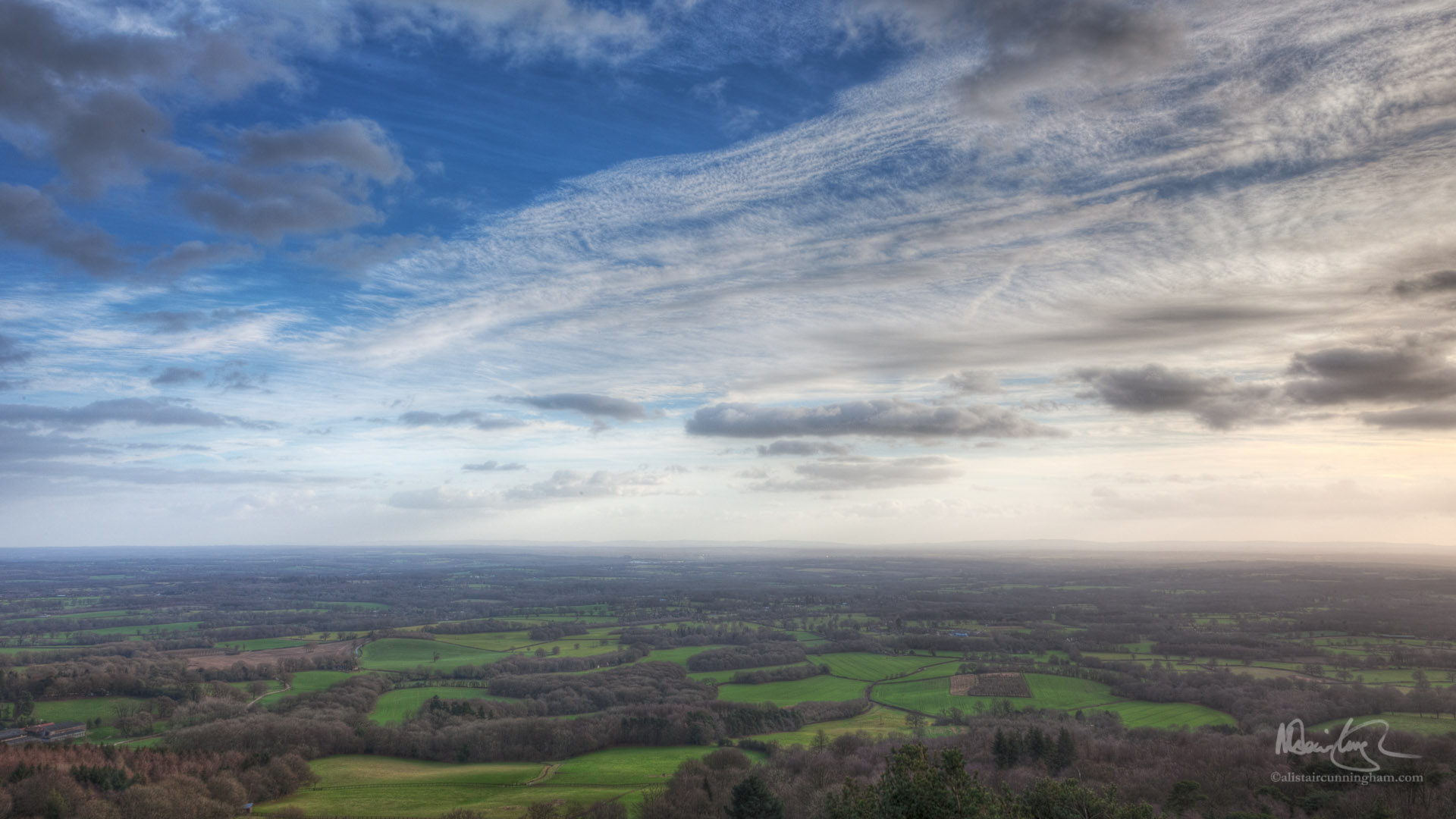 Leith Hill - The Surrey Oil Painting