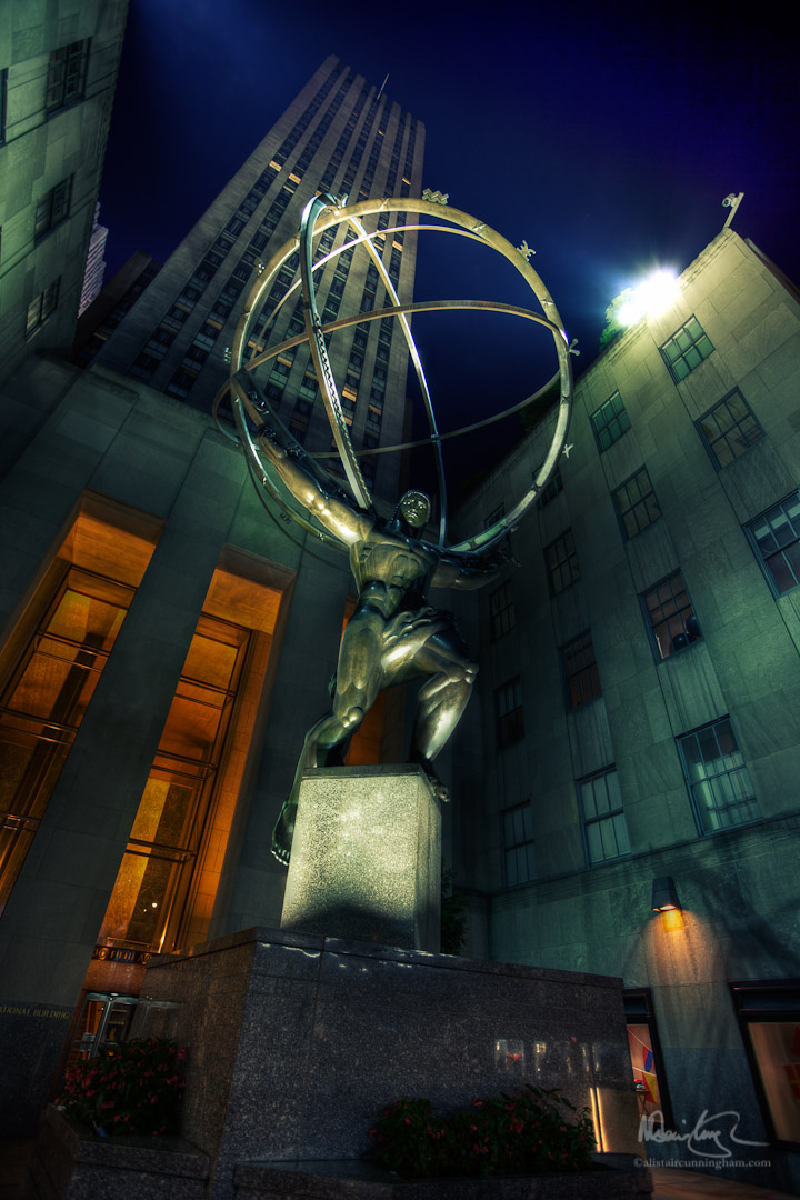 Atlas at the Rockefeller