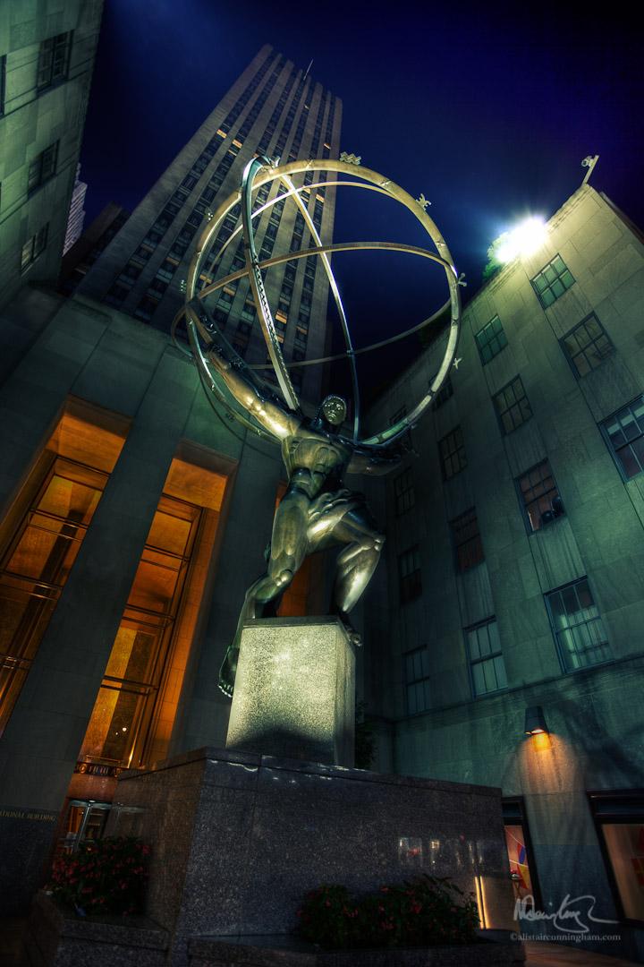 Atlas at the Rockefeller