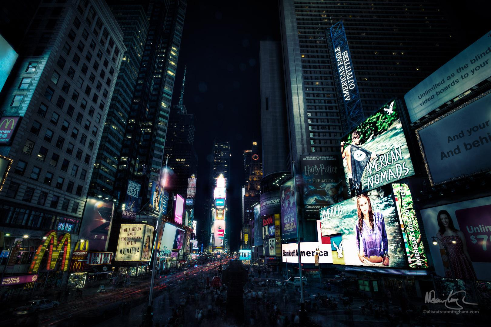 Cyberpunk in Time Square