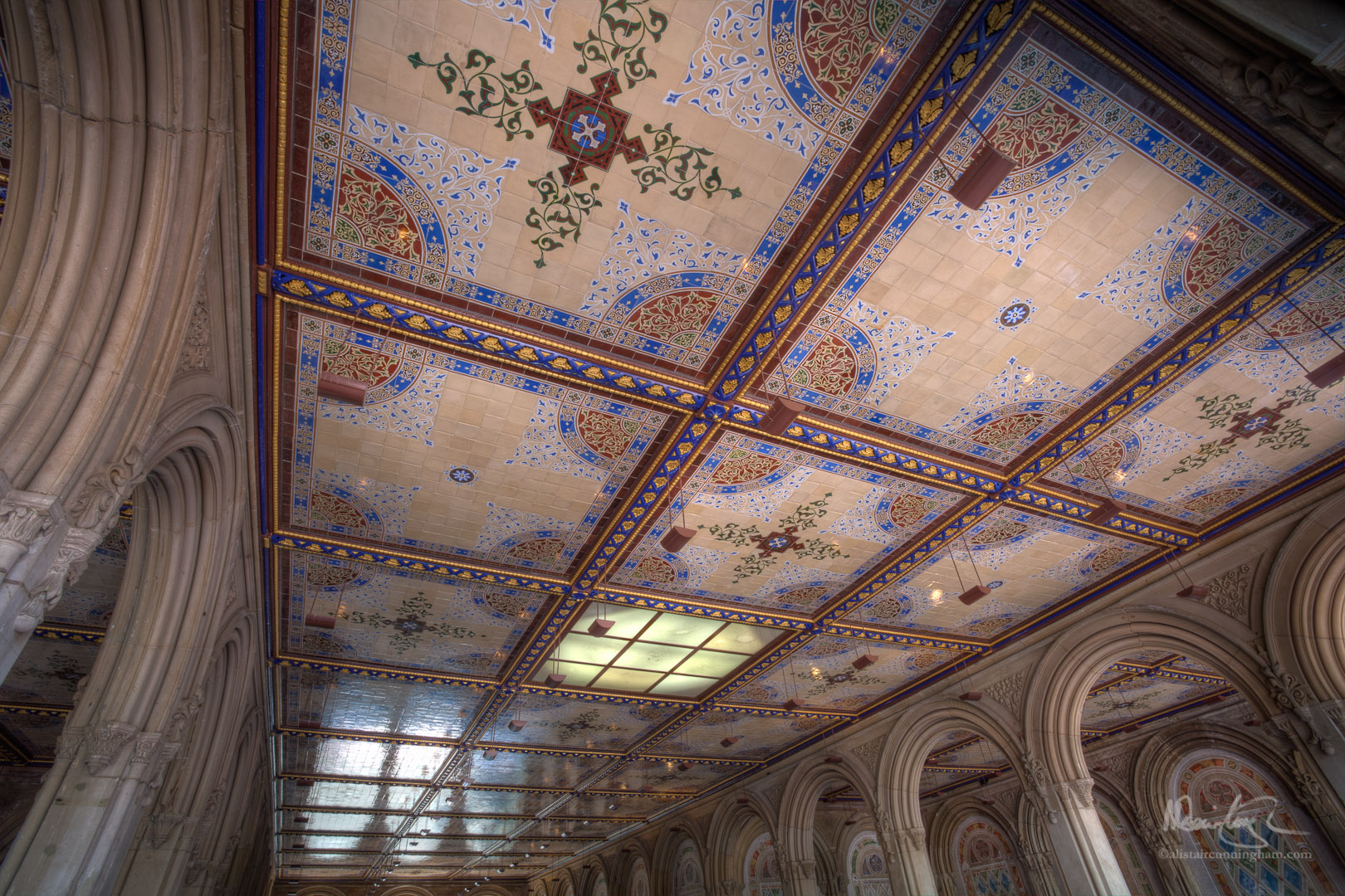 HDR Ceiling Mosaic