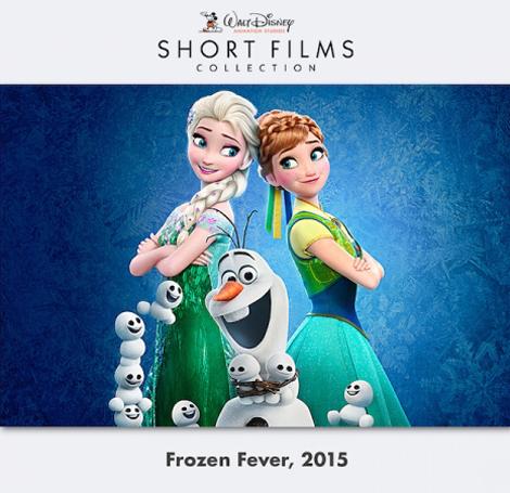 Walt DisneyFrozen Fever ترجمة الفيـلم القصير