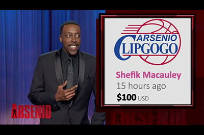 Arsenio Hall is Paying Off #Clipgogo Perks