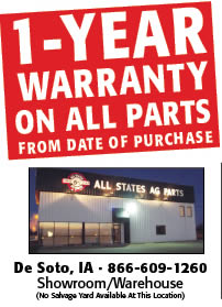 All States Ag Parts De Soto location