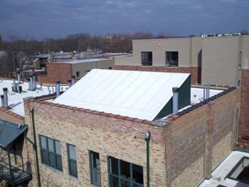 Allendorfer Roofing commercial flat roofing sample
