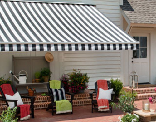 Awnings Creating a Porch