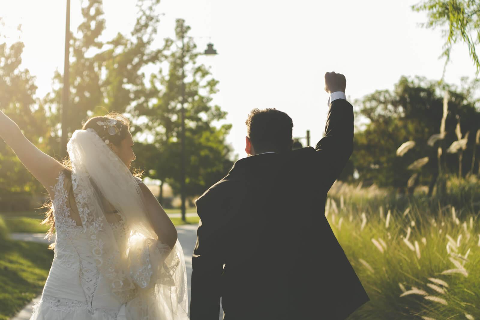 Caro & Ric - Recién casados en Laguna Chicureo
