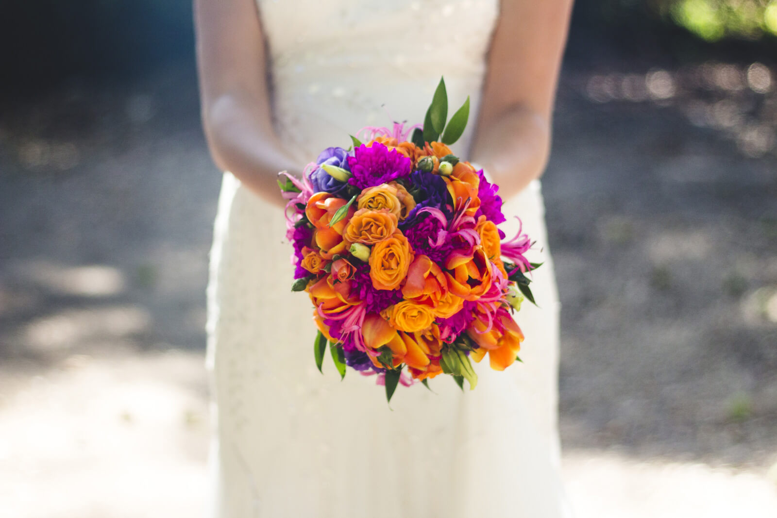 Bouquet de novia - Stef & Guille - Casa Parque Nos - Fotografía de matrimonios